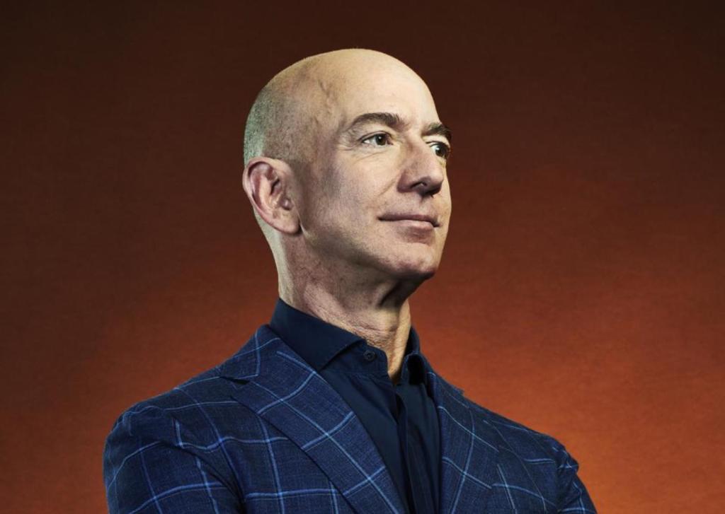 Jeff Bezos PDG amazon quitter