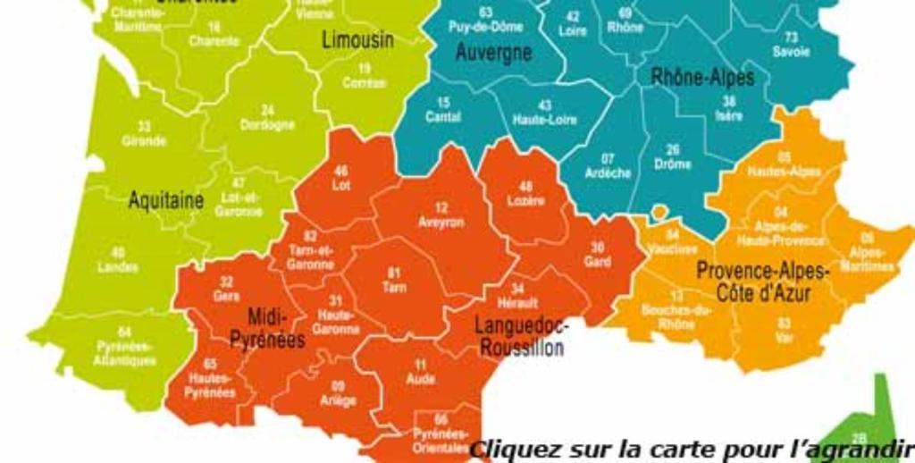 top 10 départements France taux élevé contamination
