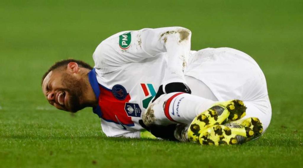 Neymar blessure quatre semaines