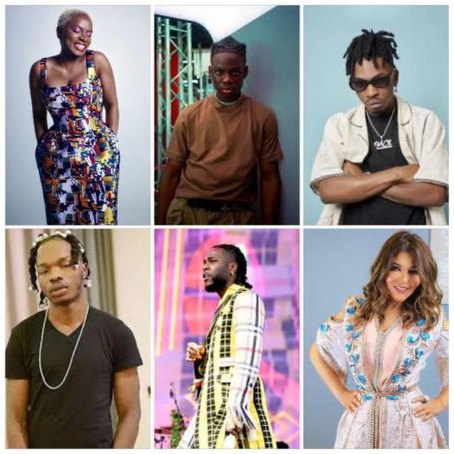 top 100 meilleurs artistes africains 2021