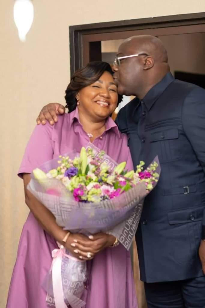 Félix Tshisekedi surprise femme Denise