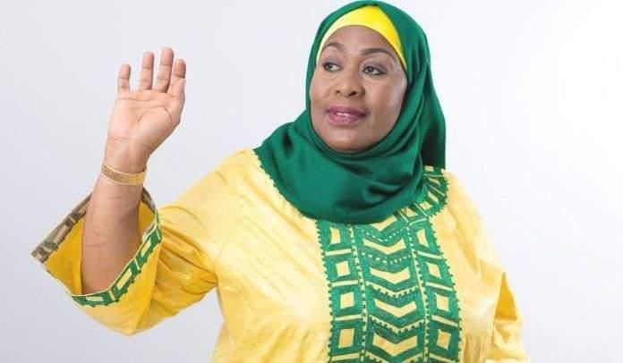 Samia Suluhu Hassan nouvelle première présidente Tanzanie