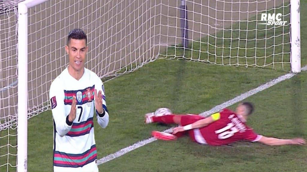 Cristiano Ronaldo portugal Serbie geste sanctions