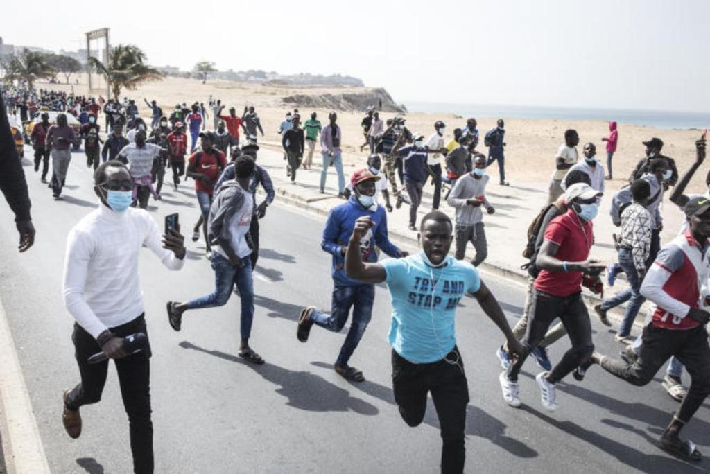 Sénégal Ousmane Sonko troubles jeunes manifestations