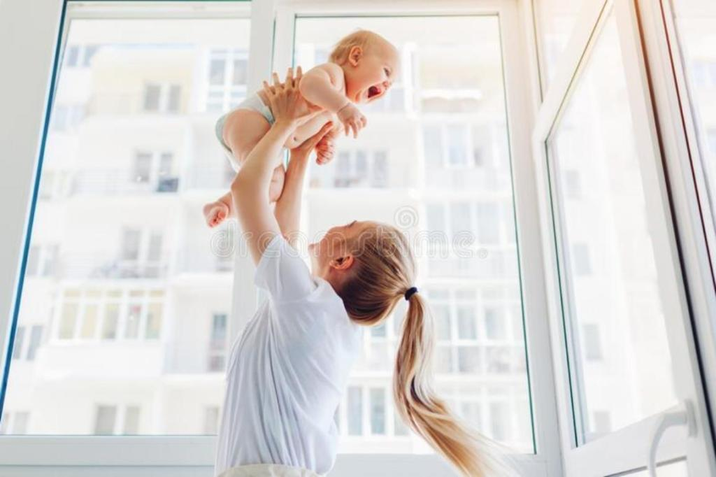 femme jette bébé de 2è étage