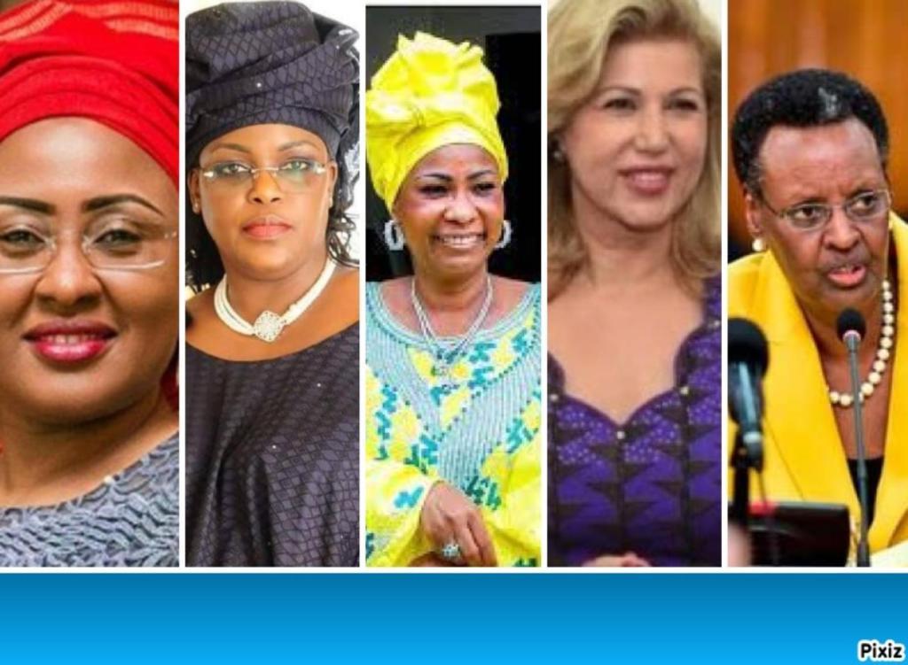 premières dames influentes Afrique
