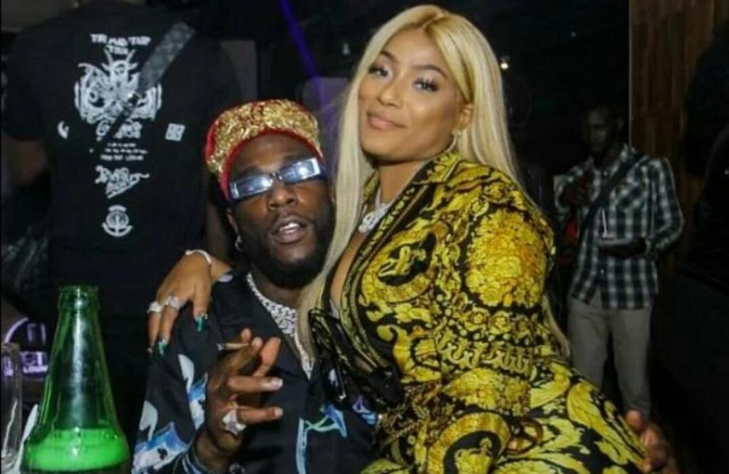Burna Boy Stefflon Don manqué attirer regards soirée