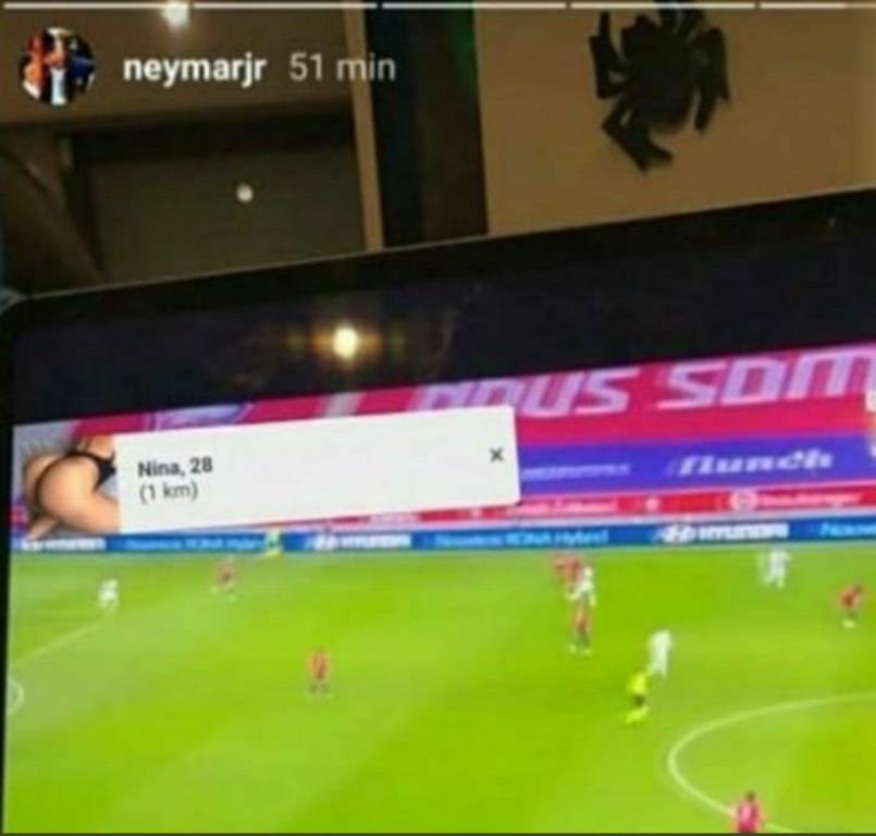 Neymar pop-up pornographique