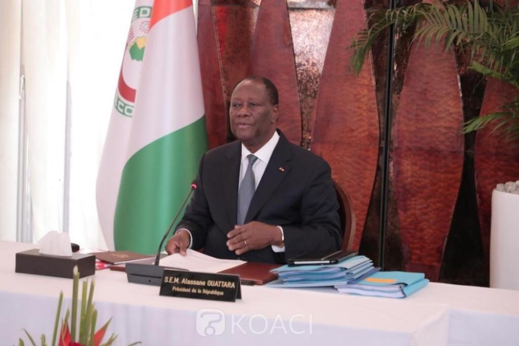Alassane Ouattara donne accord retour Laurent Gbagbo Charles Blé Goudé