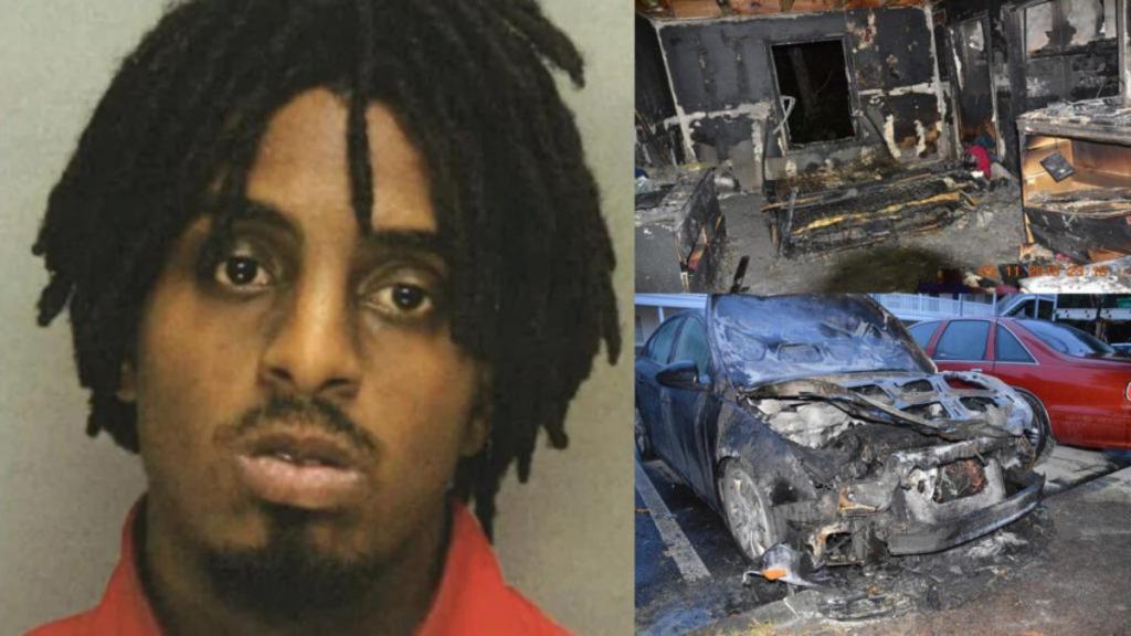 homme condamné 20 ans prison brûlé maison voiture femme avances