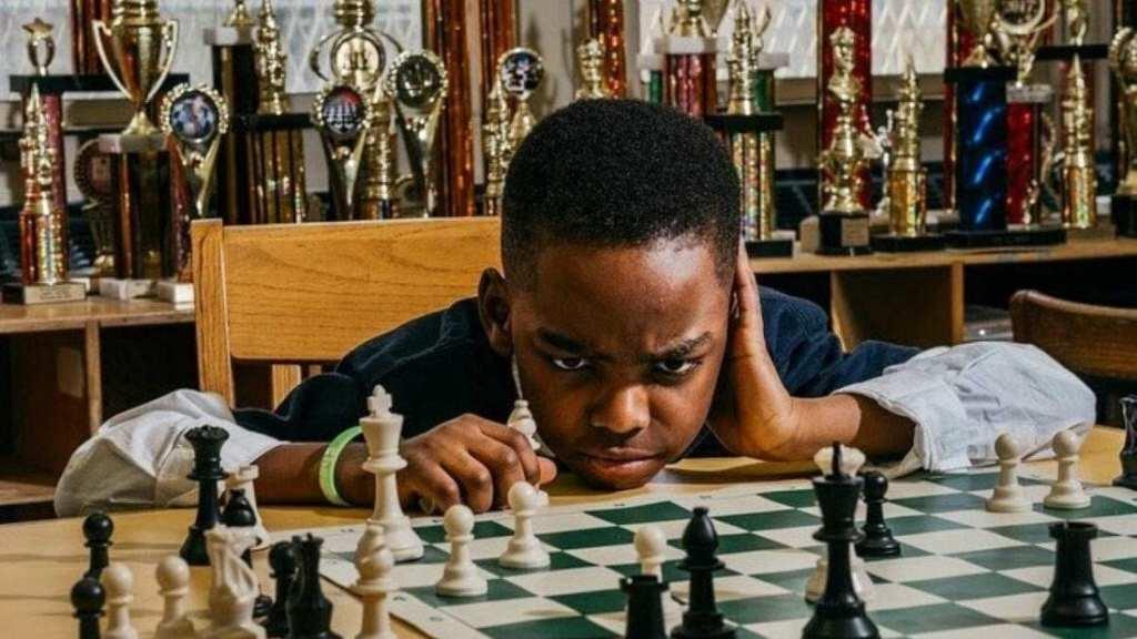 Tani Adewumi champion d'échecs