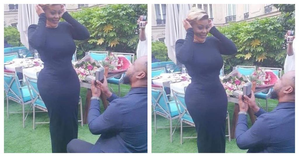 Emmanuelle Keita fiançailles mariage en couple Peter 007
