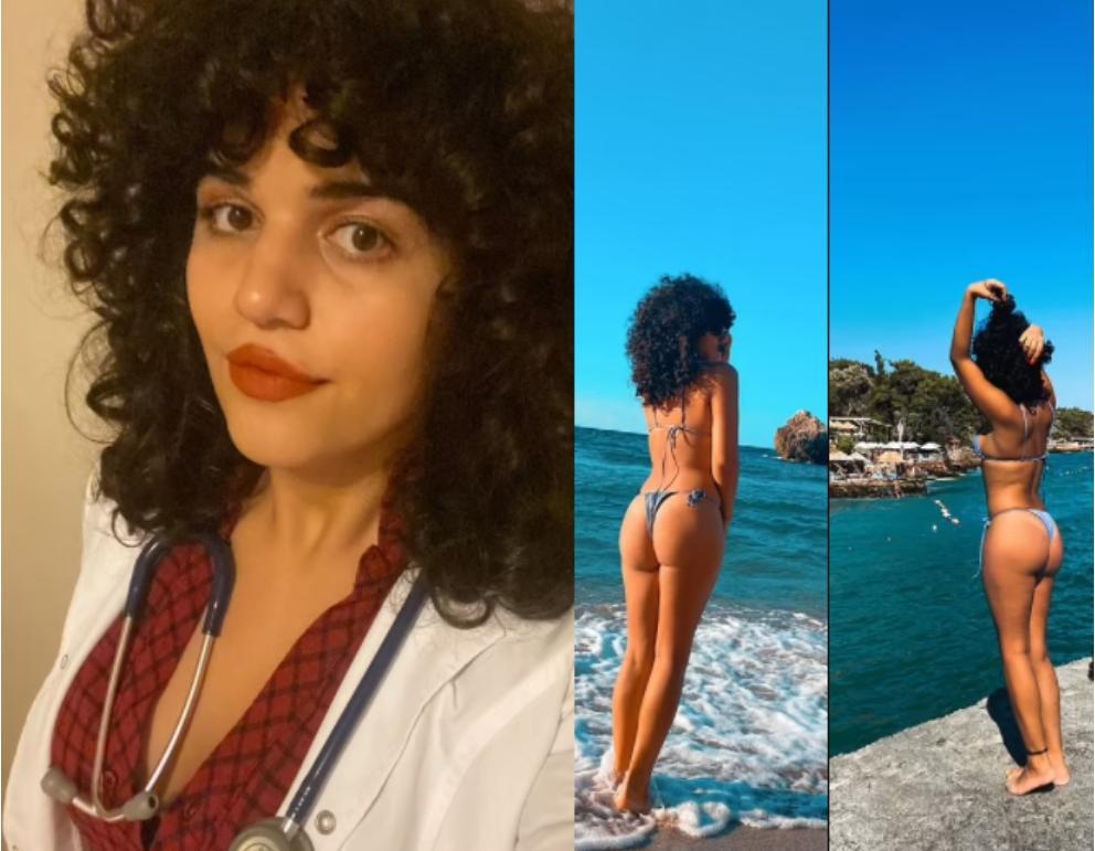 medecin bikini radiée Larin Kayata
