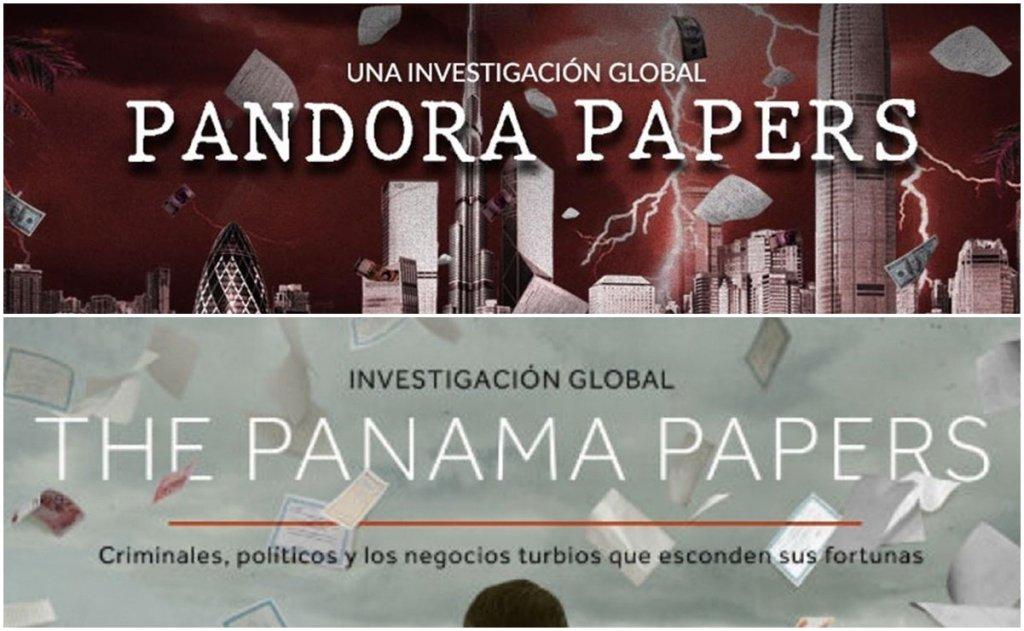 Pandora Papers Panama Papers Paradise Papers LuxLeak