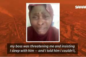 Nigerian Lady Trafficked To Oman For Domestic Work Cries Out For Help After Being Enslaved, Sexually Harassed By Boss