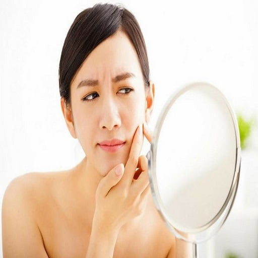 causes of black stains on your face