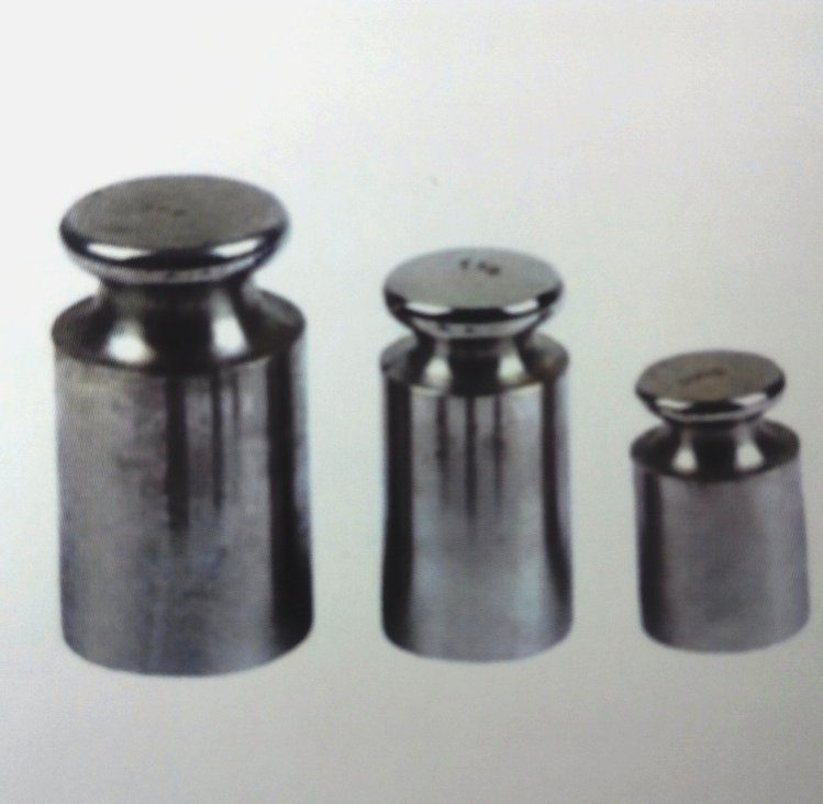 various calibration standardized weights