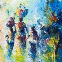 Traditional African Art: Nostaligic Journey 'Back Home II ...