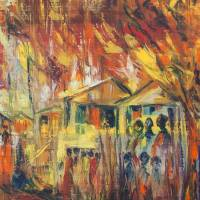 """Homeward Journey I"" - Traditional Africa (art print ..."