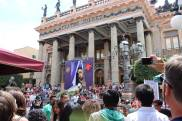 The Teatro Juarez in Guanajuato