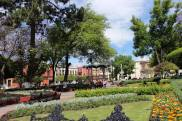 Public garden/plaza in the centro (Queretaro)