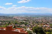 View as you drive down into San Miguel