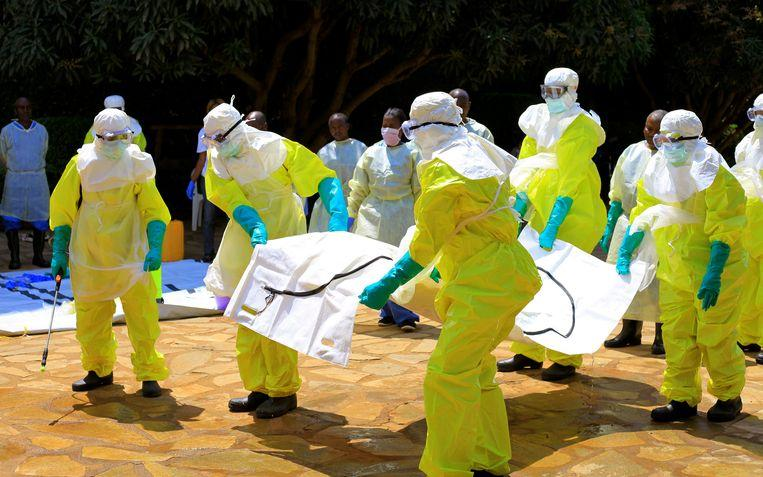 Another Ebola center in the Congo burned down, furious villagers also set fire to emergency personnel cars
