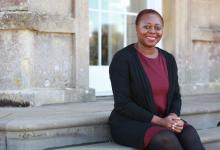 Olivette Otele, first black woman professor of history in UK