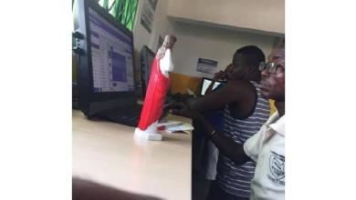 To win big: Man went to betting center with statuette of Jesus