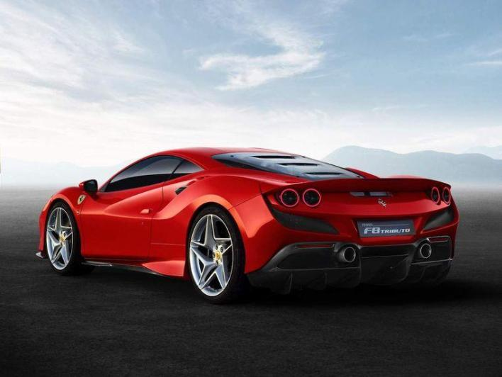 The Ferrari F8 Tributo, the strongest eight-cylinder ever