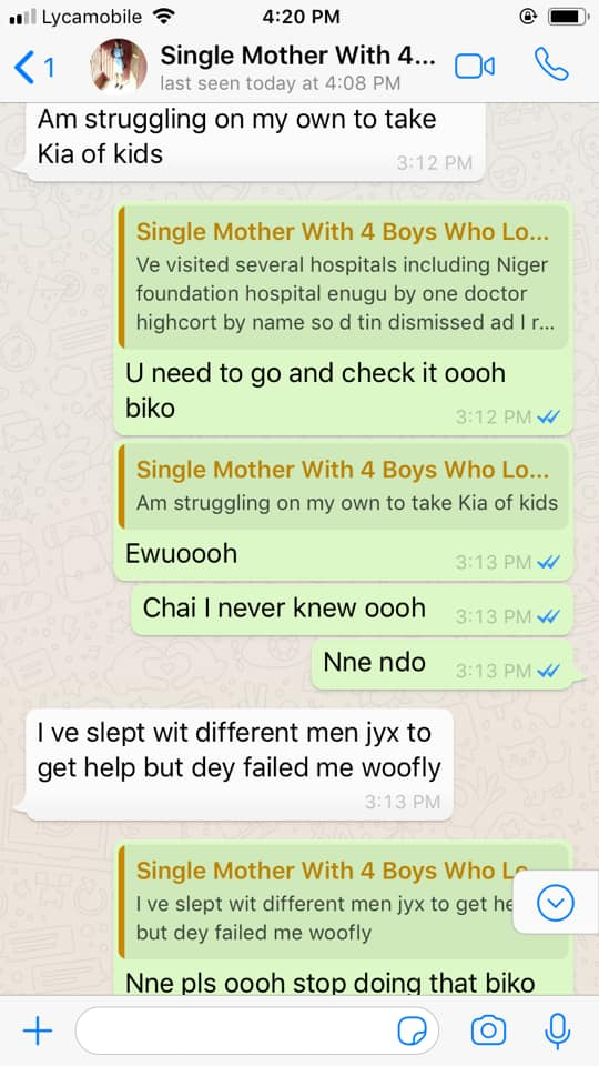 """""""I slept with different men for help, they failed"""" – Woman reveals"""