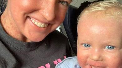 """""""I felt humiliated"""": Mother and son set off because of skin condition"""