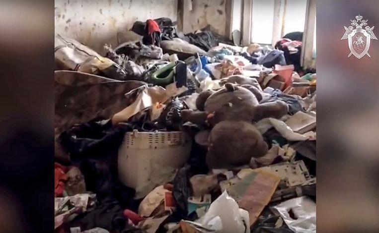 Neglected toddler freed from home full of waste, mother arrested