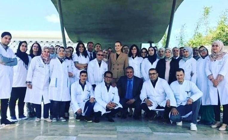 There is Moroccan Princess Lalla Salma again
