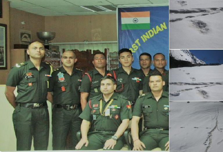 Indian army found footprints of Yeti and is being mocked heavily