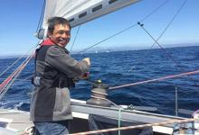 Mitsuhiro Iwamoto: first blind ever to cross Pacific Ocean non-stop