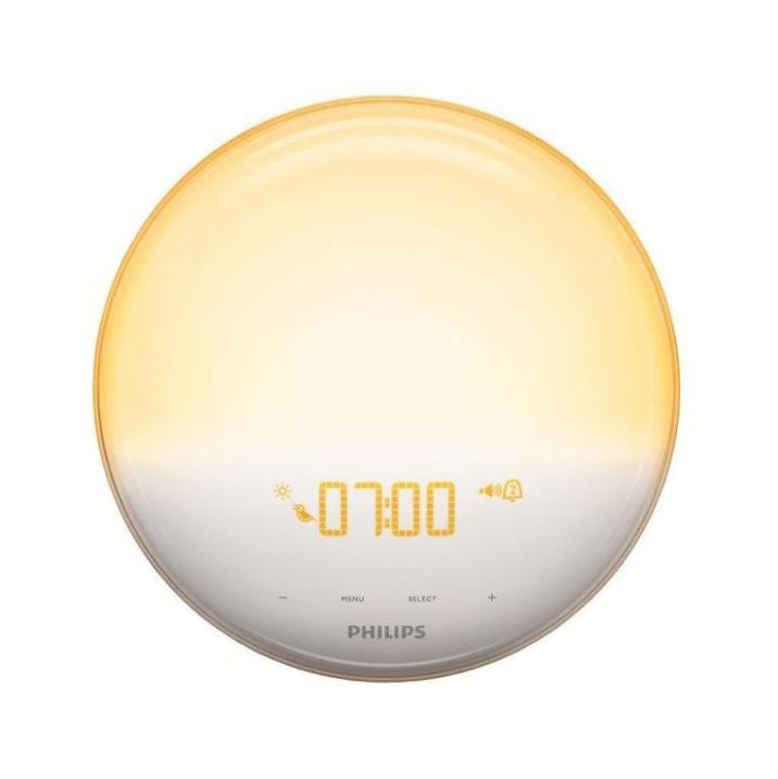 tweakers This Wake-Up-Light, also from Philips, gently wakes you up.