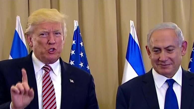 Trump calls on Palestinians to stop violence against Israel