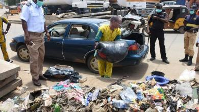 Terrible punishment for a man caught dumping garbage on roadside