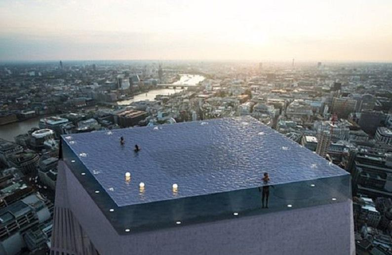 Infinity pool: Extreme swimming pool you must not fear heights