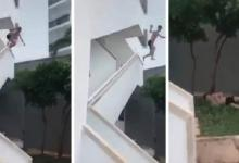 Man sued hotel for alleged accident: 'he jumps from balcony to dazzle his friends'