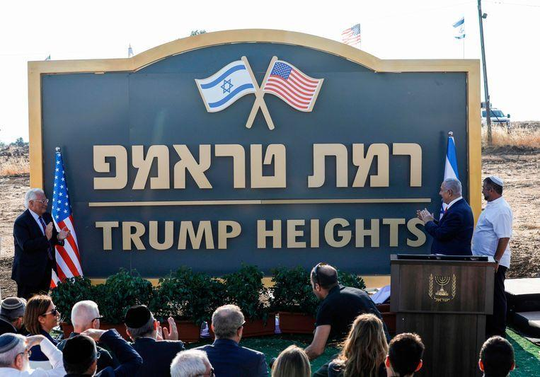 Israel calls new settlement on Golan Heights 'Trump Heights'