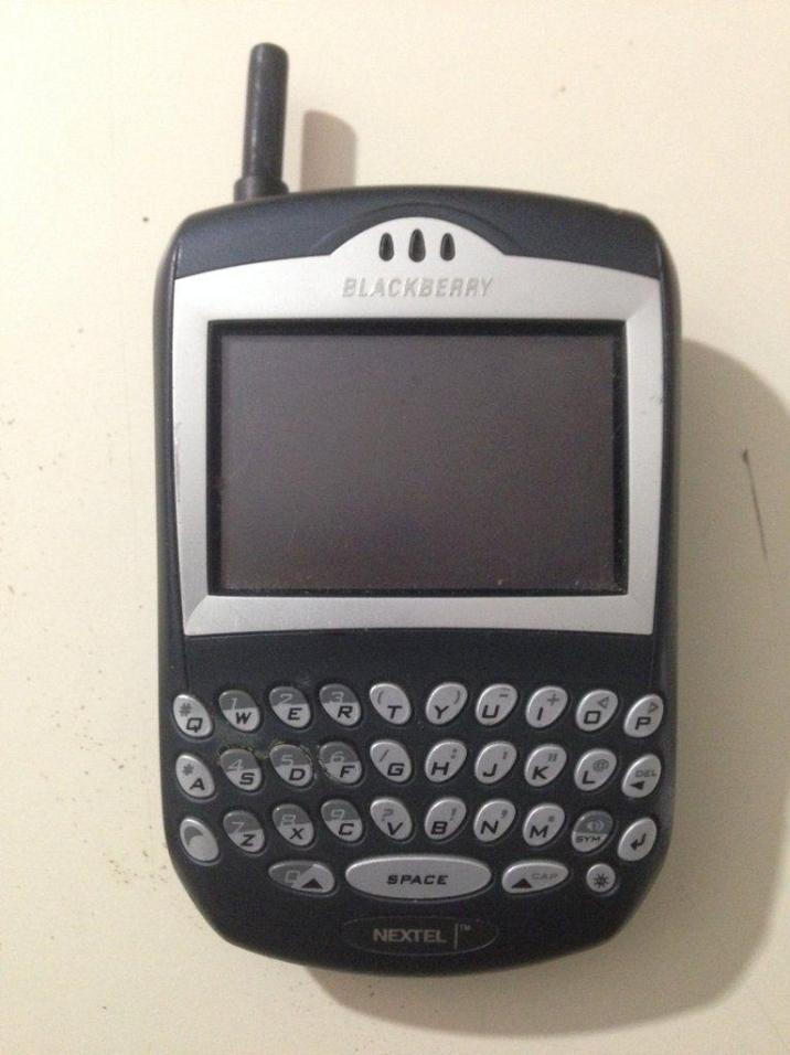 The advance of the BlackBerry: BlackBerry 850 (1999)