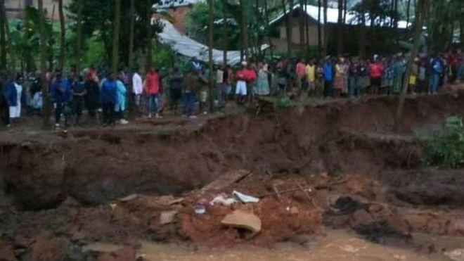 Land fall in Cameroon: at least 14 dead and 140 missing