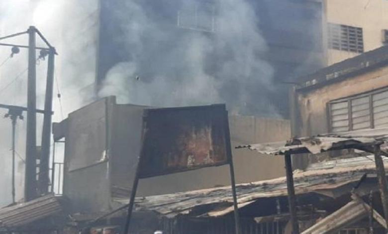Fire razed Ochanja market after Tanker explodes in Onitsha