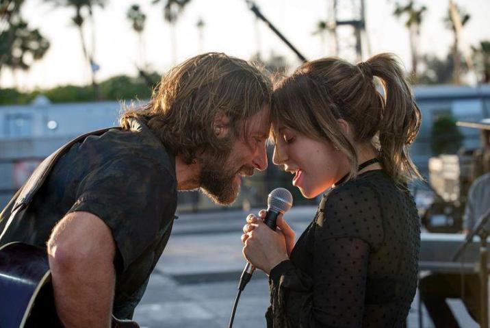 Bradley Cooper en Lady Gaga in 'A Star is Born'.