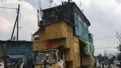 Ethiopian Abinet Tadesse builds a house on his truck [video]