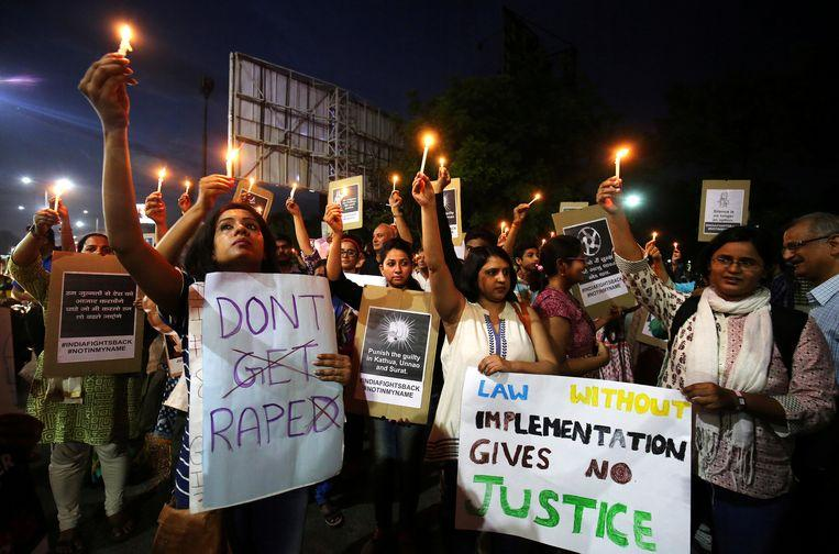 Indian police receive a rape complaint every 15 minutes