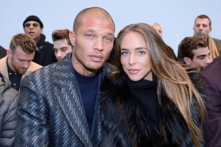 Jeremy Meeks and Chloe Green in 2018