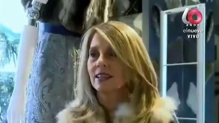 Carmela Hontou, the Uruguayan jet-setter responsible for half of the corona infections in the South American country.